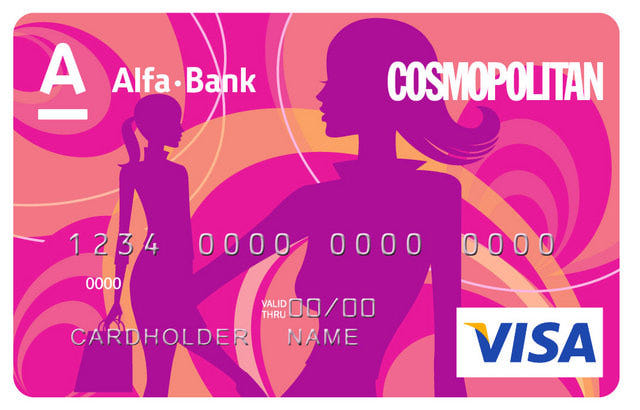 Карта Cosmopolitan Альфа-Банк